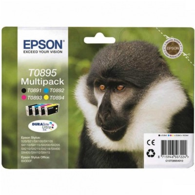 Tusze Oryginalne Epson T0895 (C13T08954010) (komplet)